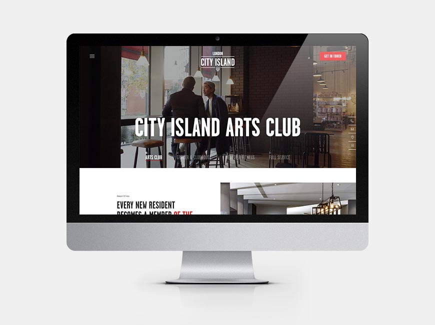 london city island arts club